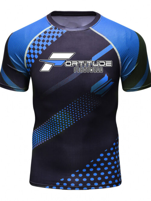 Fortitude Fightwear Rashguard Blue